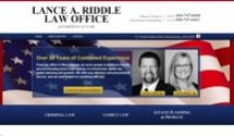 Lance A. Riddle Law Office, Attorneys at Law