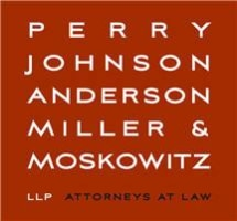 Perry, Johnson, Anderson, Miller & Moskowitz LLP