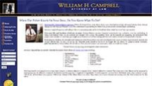 William H. Campbell, Attorney at Law