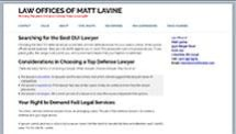 Law Offices of Matt Lavine