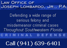 Law Office of Joseph Lombardo, Jr., P.A.