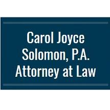 Carol Joyce Solomon, P.A. Attorney at Law