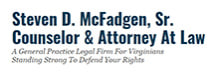 Steven D. McFadgen, Sr. Counselor & Attorney At Law